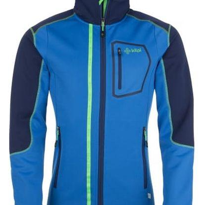 Pánská fleecová bunda KILPI BOGDAN modrá xl
