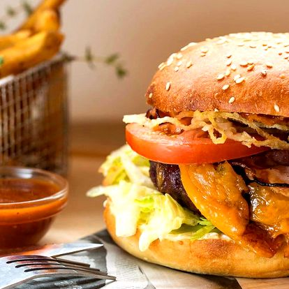 Burger menu od šéfkuchaře, který vařil v USA