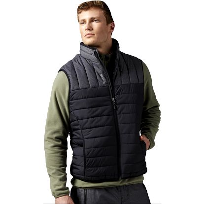 Pánská vesta Reebok Foundations Mens Padded Collar Vest L