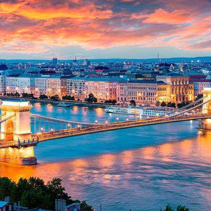 Přepychové ubytování v centru Budapešti pro dva