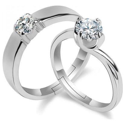 Svatební prsteny pro pár - 4 varianty