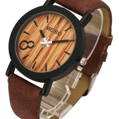 Unisex hodinky s motivy dřeva - 5 variant
