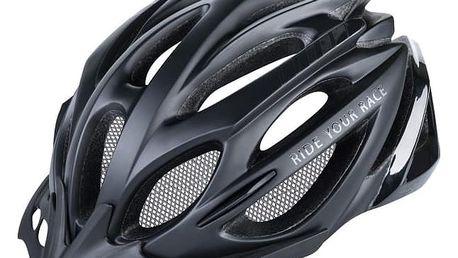 Unisex cyklistická helma R2 PRO-TEC ATH02N Černá/černá M 56-58cm