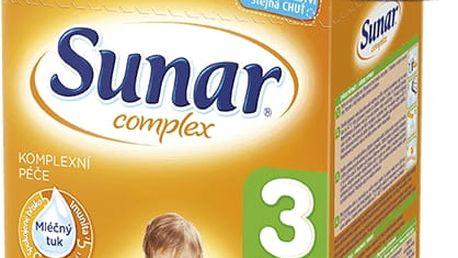 SUNAR Complex 3 BANÁN (600g) NOVÝ – kojenecké mléko