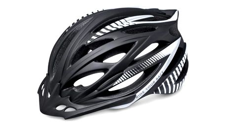 Unisex cyklistická helma R2 ARROW ATH04D Černá/bílá S 54-56cm