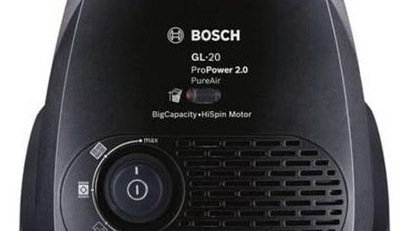 Vysavač podlahový Bosch ProPower BGL2UA220 černý/červený + Doprava zdarma