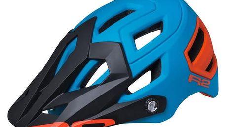 Unisex cyklistická helma R2 TRAIL ATH08D Modrá M 55-59cm
