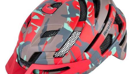Unisex cyklistická helma R2 SPYKER ATH14C Maskáč L 58-61cm