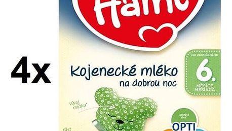 Kojenecké mléko Hami 2 Na dobrou noc, +6m, 600g x 4ks