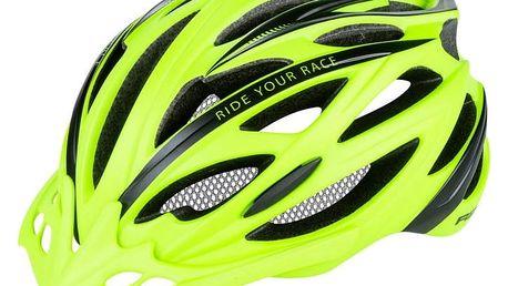 Unisex cyklistická helma R2 ARROW ATH04J Žlutá L 58-61cm