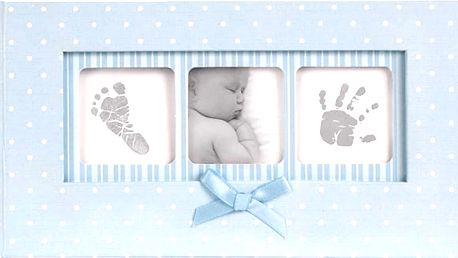FOTOALBUM Baby Polka Dot 100 fotografií (10x15cm) – modrá