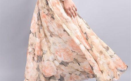 Dlouhá sukně s pestrými vzory - 6 variant