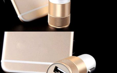 Autonabíječka pro 2 USB kabely
