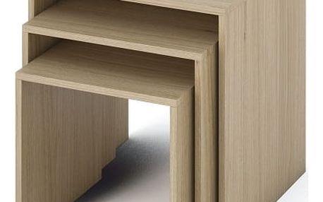 Příruční stolek, DTD laminovaná / ABS hrany, dub sonoma, SIPANI