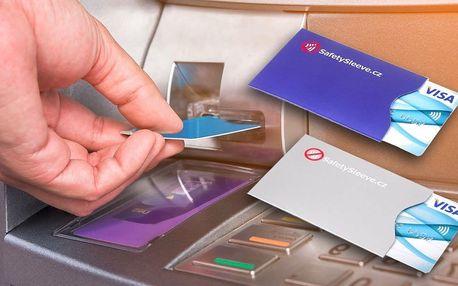 Bezpečnostní pouzdra na platební karty