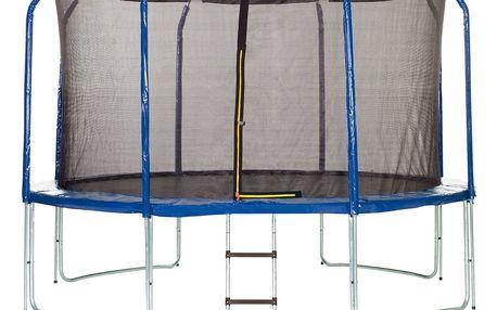 Trampolína Marimex 366 cm + vnitřní ochranná síť + schůdky ZDARMA