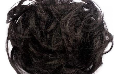 Příčesek do vlasů v podobě drdolu - více barev