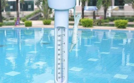 Plovoucí teploměr do bazénu