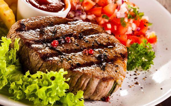Mix grill pro 2 osoby v hospůdce Baba Jaga