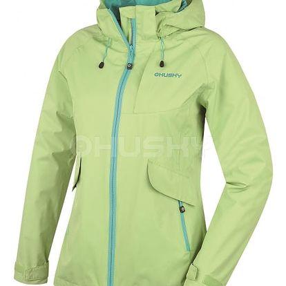 Dámská outdoor bunda Lasty L zelená, L M