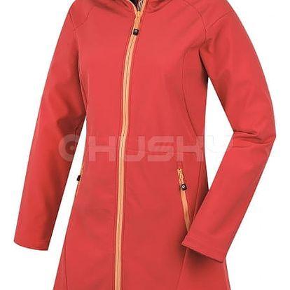 Dámský softshellový kabátek Sara červená, S S