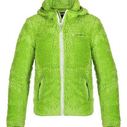 Dětská mikina Goupy zelená, 122 122