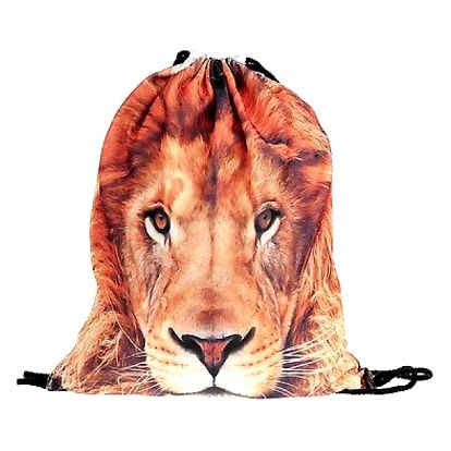 Vak na záda s motivem lva