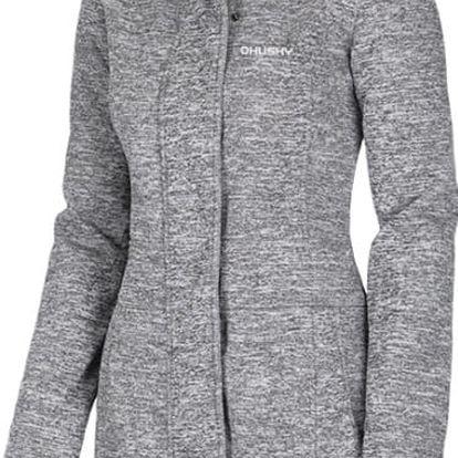 Dámský softshellový kabátek Bela long šedá, M M