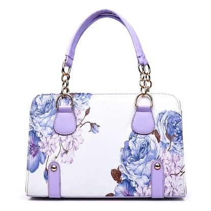 Dámská kabelka s květinovými vzory - 5 variant