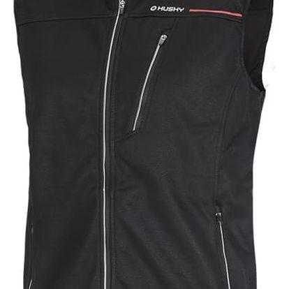 Pánská softshell vesta Holy černá, L M