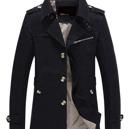 Stylový jarní kabát