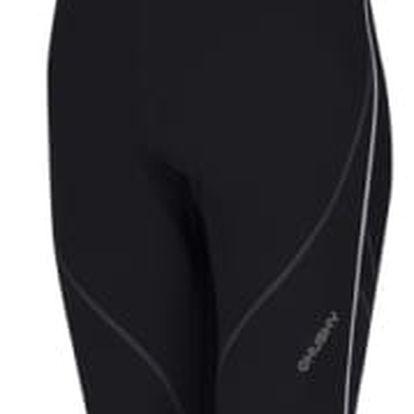 Běžecké elastické kalhoty Haben černá, S M