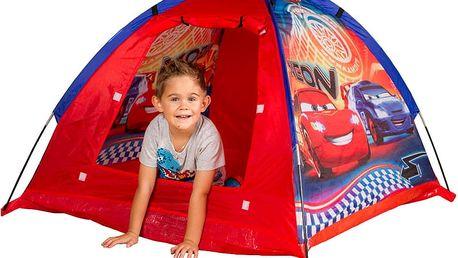 JOHN Zahradní dětský stan Cars Neon 120x120x87 cm