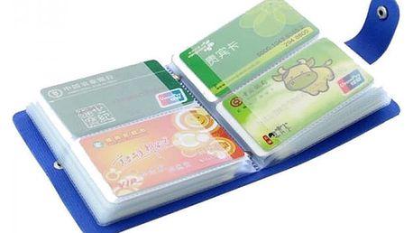 Organizér na platební karty - 40/64 slotů