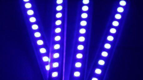 Modré LED osvětlení do interiéru