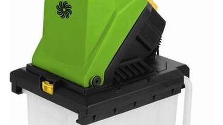Drtič zahradního odpadu Fieldmann FZD 4020-E černý/zelený + Doprava zdarma