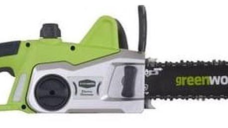 Pila řetězová Greenworks GCS2046, elektrická + Doprava zdarma