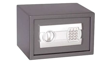 Trezor digitální CEV 310 x 200 x 200 mm (S-20EU) šedý + Doprava zdarma