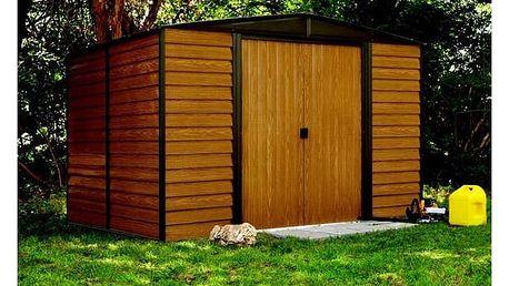 Zahradní domek Arrow Euro Dallas 10x8 + Aku vrtačka Black&Decker EPC14CAB, 2 aku v hodnotě 1 299 Kč + Doprava zdarma
