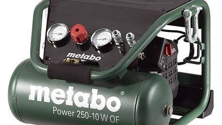 Kompresor Metabo Power250-10WOF zelený + Doprava zdarma
