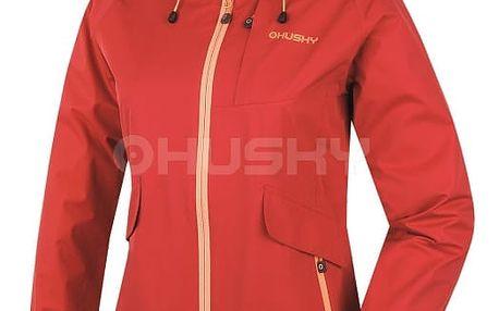 Dámská outdoor bunda Lasty L červená, M L