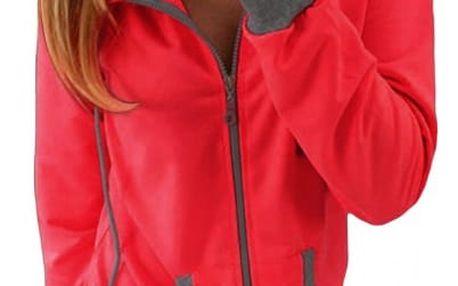 Dámská teplá mikina s kapucí - 3 barvy