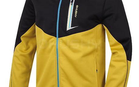Pánská fleecová bunda Avely M žlutá, M XL