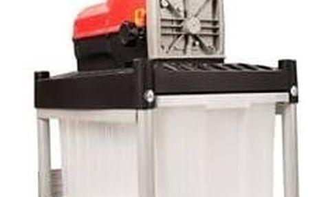 Drtič zahradního odpadu Riwall RES 2540 B černý/červený + Doprava zdarma