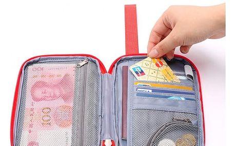 Pouzdro na cestovní pas a jiné doklady - 5 barev