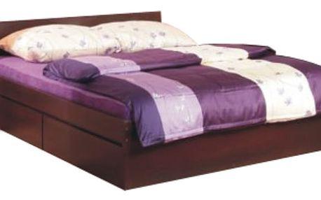Manželská postel 160x200cm PELLO TYP 92, sosna lareto