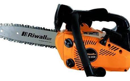 Pila řetězová Riwall RPCS 2530, benzínová vyvětvovací + Doprava zdarma