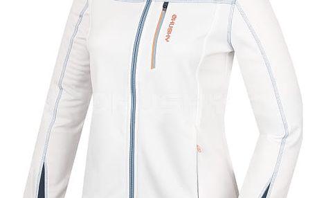 Dámská fleecová bunda Avely L bílá, L XL