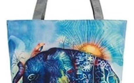 Dámská taška přes rameno s sloníky