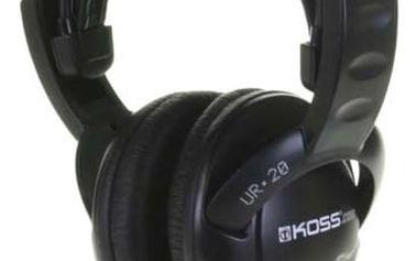 Sluchátka Koss UR 20 (dvouletá záruka) černá